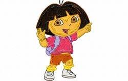 Dora wijst 123 x 83
