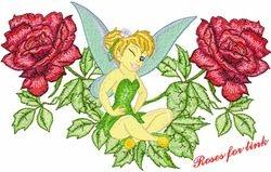 Tink tussen de rosen 160 x 256