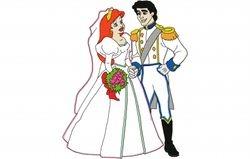Ariel trouwt 200 X 252