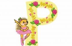 Lilli fee letter P  94 X 98