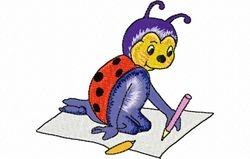 Liveheersbeestje tekent 99 x 88