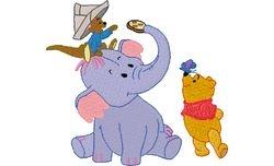 Lllifant + pooh 99 X 90