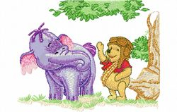 Pooh en lollie 137 x 175