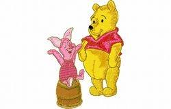 Pooh en knor 85 X 120
