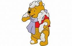 Pooh in de sneeuw 62 x 99