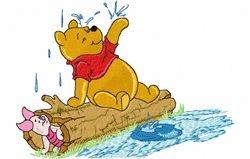 Pooh regen 128 x 176