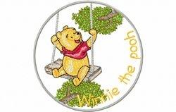 Pooh schommeld 120 x 120