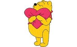 Pooh verliefd 60 X 99