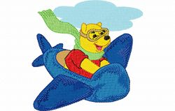 Pooh vliegtuig 98 X 98