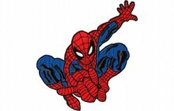 Spiderman kleur 129 x 140