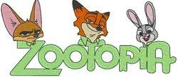 Logo zootopia allemaal 156 X 68