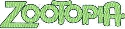 Logo zootopia 98 X 22