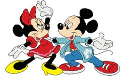 Mickey en mini rock en roll 119 X 179