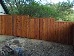 Double sided fence side 2