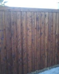 cedar with trim plus stain