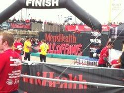 Mens Health Race Finish - Cardiff