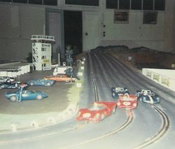 Original New Town Track  - built 1968