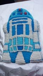 Second R2 D2 Cake