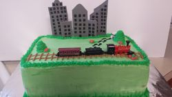 Great Train Robbery Cake