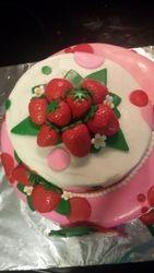 Strawberry Sweet Cake