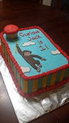 Curious Jack Cake and Smash Cupcake