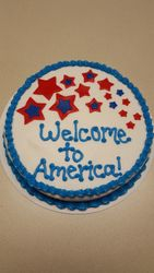 Welcome to America Cake