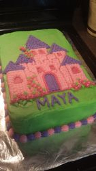 Maya's Castle Cake