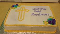 New Member Welcome Cake