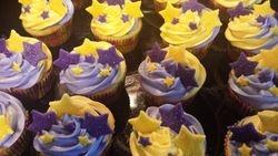 Sparkly Stars Cupcakes
