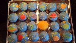 Stargazing Cupcakes