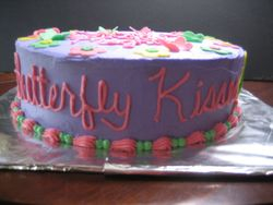 Butterfly Kisses Cake