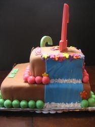 Dora the Explorer and Diego Cake