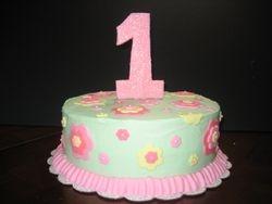 Floral Birthday Cake