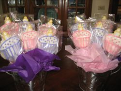 Cupcake Cookies on a Stick