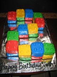 Lego Blocks Cake
