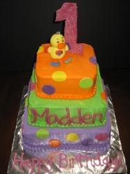 Madden's birthday cake