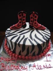 Zebra Cowgirl