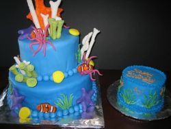 The Coral Cake