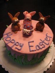 Hoppy Easter Cake