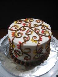 Harvest Henna Cake