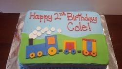 Cole's Choo Choo Cake