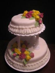 Wedding Roses Cake