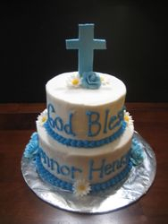 Connor's Baptism Cake
