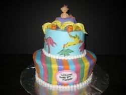 Dr. Seuss Baby Shower Cake