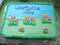 Libertyville Moms Group Spring Party Cake
