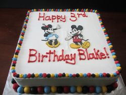 Old Fashioned Mickey Cake