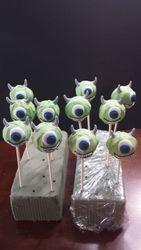 Monsters Inc. Mike Wazowski cake