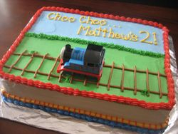 Thomas the Third Cake