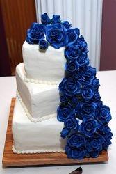 Midnight Blue sugar roses
