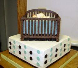 Nicole's Babyshower cake